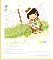 November wind Wallpaper pack by winRie