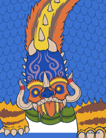 Monster Month #25 - Mahahadro by The-Knick