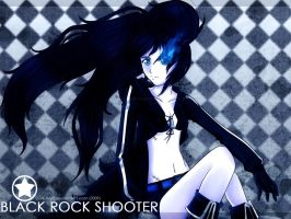 Black Rock Shooter by Dark-Arya