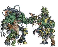 Orks -  Mad Dok - clr by Taytonclait