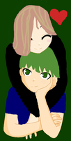 Me and Yousuke-Nii-chan by GothGurl86