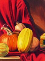 Squashes in Oil by daniel-w
