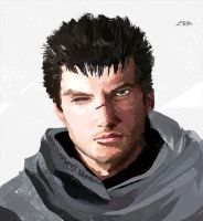 Guts from Berserk by LAMnumber2