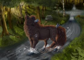 The Forest Spirit by Sally-Ce