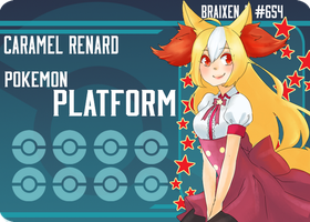 PokePlatform: #654 Braixen by girupon