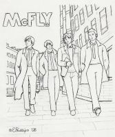 McFLY + Beatles Crossover by CyberCatTB