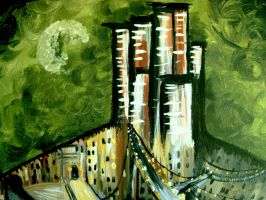 Burdensome City by Aurora-Chemical
