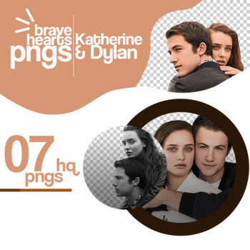 PACK PNG 1232 // KATHERINE L. AND DYLAN M. by BraveHearts-PNGS
