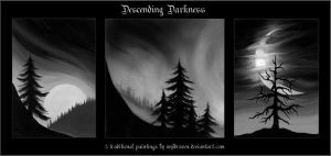 Descending Darkness by wyldraven