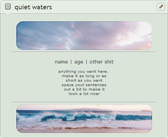 quiet waters F2U non-core page code by cal-vain