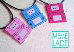 Nintendo DS Necklace by Memelade