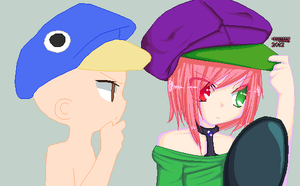 . i dont want this hat . by Dickfit