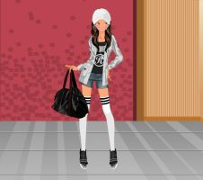 Layered Zip Up fashion dressup by Brandee-Ssj-Doll