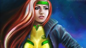 Rogue wallpaper version by MagicnaAnavi