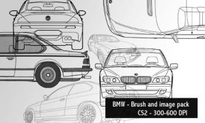 BMW - brush and image pack by screentones