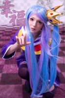 Shiro Cosplay from No Game No Life by noodlerella