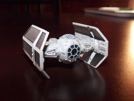 Vader's tie fighter by Electroswing