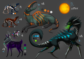 Adoptable Batch.3 - All Sold by Onyxwings