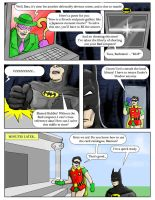 Library Batman 1 by Snackbot