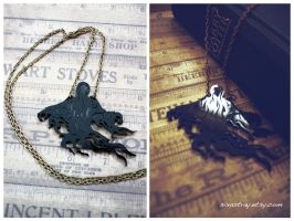 Dementor Necklace by sixAstray