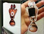 Sentret magnet front and back by SusieCurlyQ