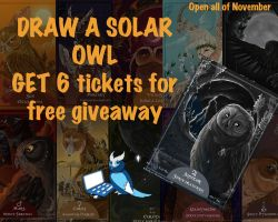 November- get double tickets for free raffle by busbyart