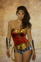 BAR REFAELI as Wonder Woman by NigelHalsey