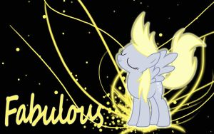 Fabulous Derpy Wallpaper by bluepaws21
