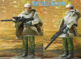 New Republic Marksman (custom figure) by MarcusStarkiller