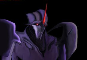 Starscream Prime by arceeenergon