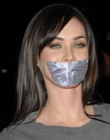 Megan Fox taped by ikell