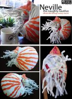 Neville the Naughty Nautilus by muffin-wrangler