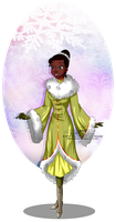 Winter Princess - Tiana by selinmarsou