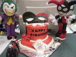 Joker and Harley Birthday Surprise by Franrie