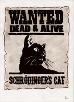 Wanted - Schroedinger's Cat by Alektus