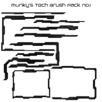 Munky's Tech Brushes by munky110