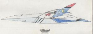 F-A 328 Arwing II by Jim-Prower