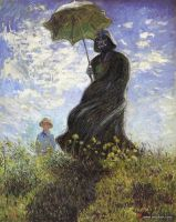 Vader with Parasol by limpfish