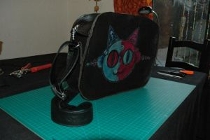 leather purse by Miss-Gato