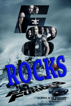 The Fate of The Furious 2017 Movie Rocks by kouliousis