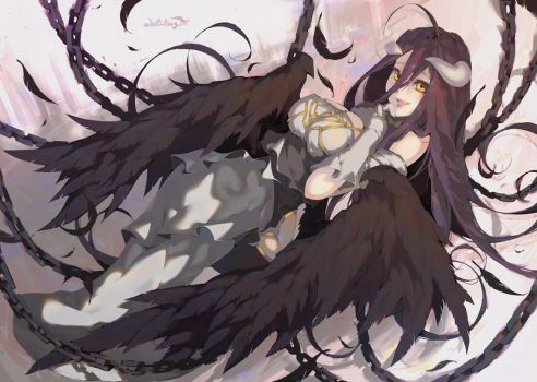 Overlord - ALBEDO by WaterRing
