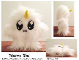 Unicorn Yeti Details by Kawaiiwarrior
