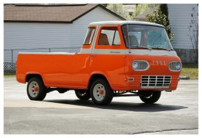 Big Orange Econoline by TheMan268