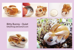 Bitty Bunny - Quiet - SOLD by Bittythings