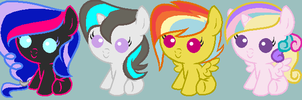Shipping pony adopts !!! by FireFlarePony