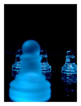 Chess Is Blue by broken-glass