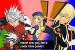 MMD - BlazBlue x Persona - All Out Attack by SilverKazeNinja