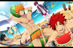 Let's Go to the Beach by MikkouKun