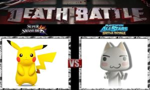 Death Battle Pikachu vs Toro by Werewolf-Hero