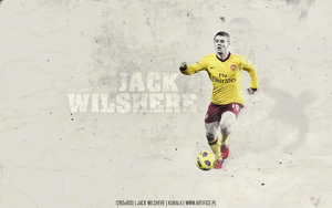 Jack Wilshere Wallpaper by kubala5